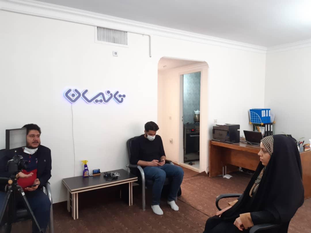 مصاحبه با سرکار خانم مهندس حسین زاده از برنامه مهربانو